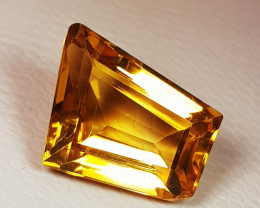 4.74 ct Top Quality Gem Beautiful Fancy Cut Natural Citrine