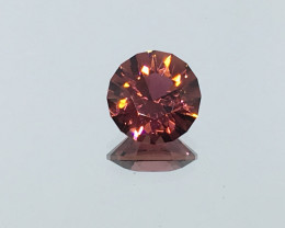 2.03 Carat VVS Congo Tourmaline Master Cut Pinkish Purplish Simply Divine !