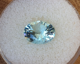 4,70ct Aquamarine - Master cut!