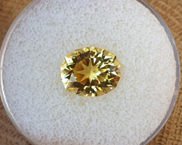 3,92ct Heliodor / Yellow Beryl - Master cut!