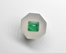 2.43 Carats Natural Green AFGHAN (Panjshir) Emerald!