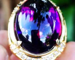 Rare Amethys Natural Vivid Purple Original Tanjung Indonesia HQ luster jewe