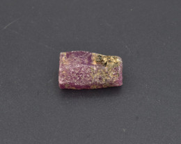 Natural Ruby Crystal with 21.36 Cts from Guinea