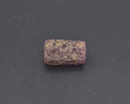 Natural Ruby Crystal with 21.75 Cts from Guinea