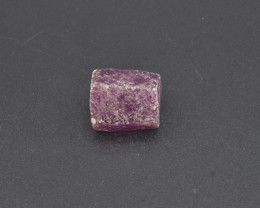 Natural Ruby Crystal with 22.77 Cts from Guinea