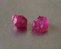 1.74ct unheated ruby rough