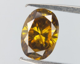 Fierce Oval Diamond , Oval Brilliant cuts , 0.31 cts