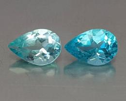 1.10CT NEON BLUE APATITE BEST QUALITY GEMSTONE IIGC009