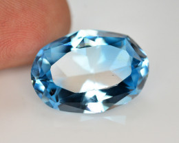 Stunning 14.85 Ct Natural Blue Topaz Gemstone