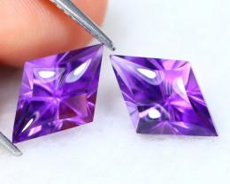 Amethyst 3.96Ct Kit Cut Natural Bolivian Purple Amethyst B2001