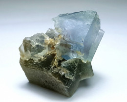 Amazing Natural color Damage free lovely Fluorite  specimen 109Cts-P