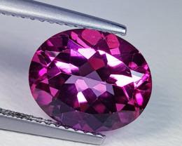 4.31 ct Top Quality Gem Stunning Round Cut Natural Pink Topaz