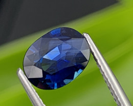 1.26 Cts Dark Royal Blue Top Quality Natural Sapphire