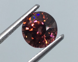 2.62 Carat VVS Zircon Tanzania Unheated Cinnamon Red Rare !