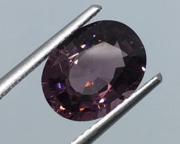 2.87 Carat VVS Spinel Purple Burmese Precision Cut and Polish !