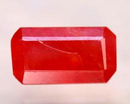 Sapphire 2.71Ct Natural Reddish Orange Sapphire E2405/B38
