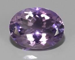 8.25 CTS AWESOME NATURAL OVAL WONDERFUL~VIOLET AMETHIYST GEM!!