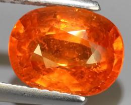 3.40 Cts Unheated Natural Orange Spessartite Garnet Namibia Gem!!