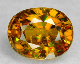 1.34 CT SPHENE WITH DRAMATIC FIRE AFGHANISTAN SP22