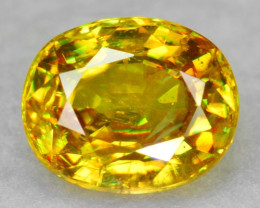 0.74 CT SPHENE WITH DRAMATIC FIRE AFGHANISTAN SP36