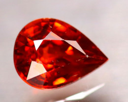 Garnet 1.36Ct Natural Vivid Orange Spessartite Garnet EF2424/B34