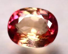 Tourmaline 1.37Ct Natural Bi Color Pink Tourmaline EF2428/B19