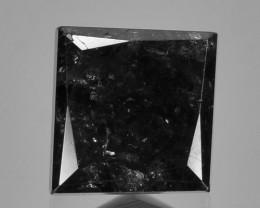 0.93 Cts Amazing Rare Fancy Jet Black Color Natural Loose Diamonds