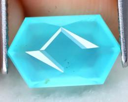 Paraiba Opal 1.68Ct Mastre Cut Natural Peruvian Blue Opal AT0339