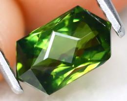 Green Apatite 1.31Ct Master Cut Natural Green Apatite AT0363