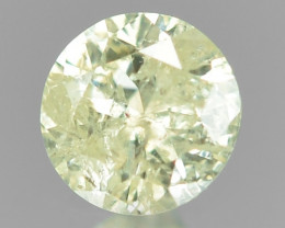 *No Reserve* Diamond 0.11 Cts Untreated Fancy Yellowish Grey Color Natural