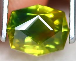Parti Sapphire 1.17Ct VVS Master Cut Natural Parti Sapphire AT0019