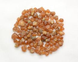 250 CT Orange Glrossular Garnet Crystals @Pakistan