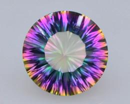 11.10 ct Natural Top Clor Rainbow  Mystic Quartz t