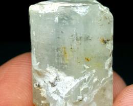 Amazing Natural color damage free DT Aquamarine crystal 35 Cts-P