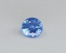 0.55ct unheated blue sapphire