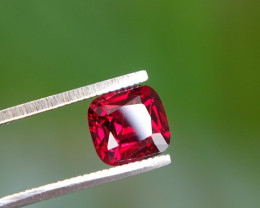 Spinel - Noble Red - 1.75ct Cert -