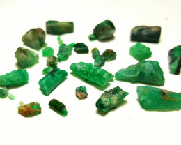 Amazing Natural color Lovely Emerald lot  52 Cts-Afghanistan