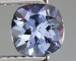 Tanzanite 0.88 ct Cushion Cut Tanzanite Gemstone