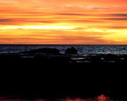 Sunset, Big Island.