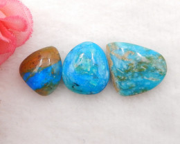 13cts Natural Blue Opal Cabochon, October Birthstone, Blue Opal H202