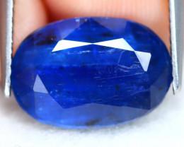 Kyanite 6.09Ct Oval Cut Natural Himalayan Royal Blue Color Kyanite C2305