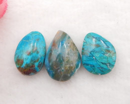 15cts Natural Blue Opal Cabochon, October Birthstone, Blue Opal H216