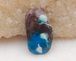 12cts Natural Blue Opal Cabochon, October Birthstone, Blue Opal H218