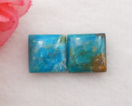 6.5cts Natural Blue Opal Cabochon, October Birthstone, Blue Opal H224