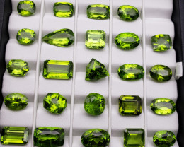 Peridot 142 cts pcs 25 (US seller)