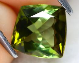 Green Tourmaline 1.26Ct VS Shield Cut Natural Green Tourmaline A2307