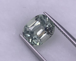 3.50 Cts Custom Cut Top Quality Pistachio Green Natural Tourmaline