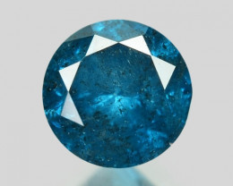 0.17 Cts Sparkling Rare Fancy  Blue Color Natural Loose Diamond