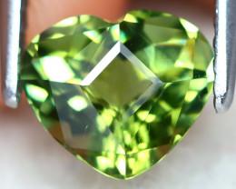 Tourmaline 1.14Ct VVS Precision Master Cut Natural Green Tourmaline AT0294