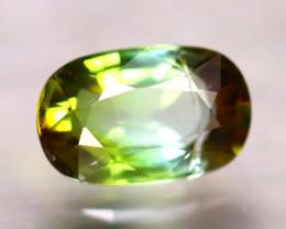 Tourmaline 1.29Ct Natural Bi Color Green Tourmaline DA2513/B19